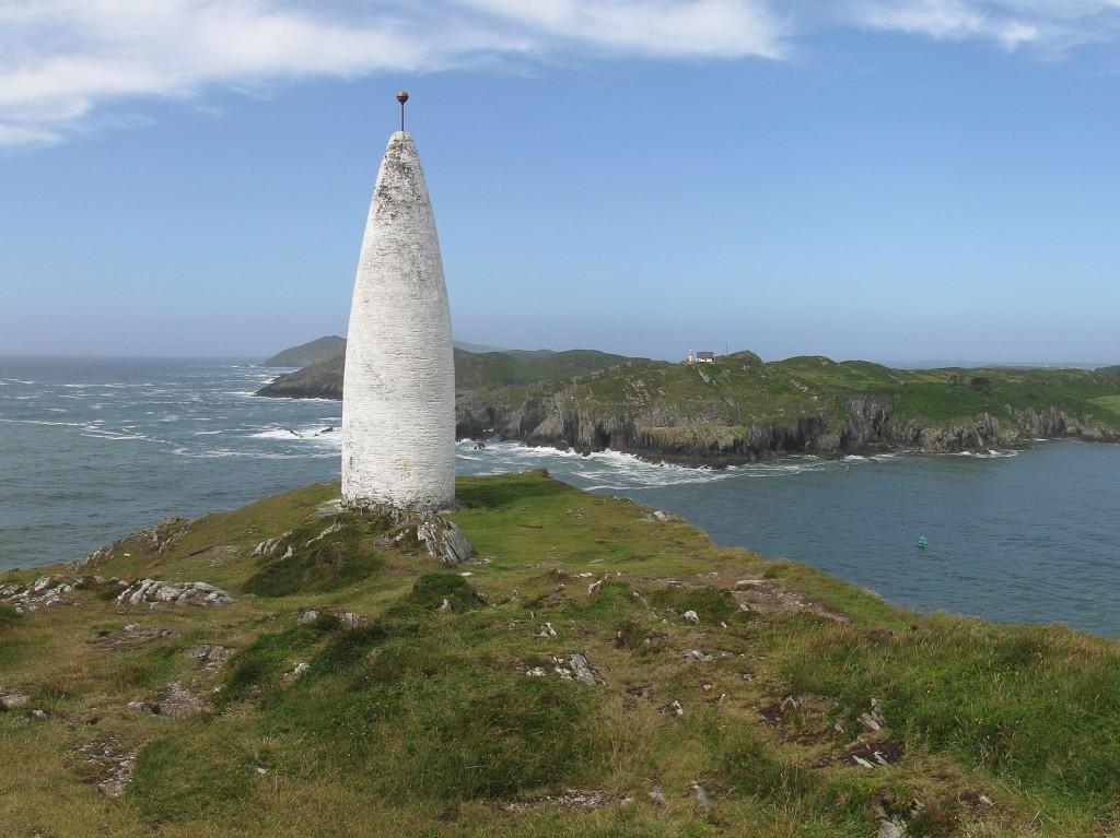 The Baltimore Beacon near Baltimore, Co. Cork, Ireland