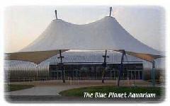 Front of the Blue Planet Aquarium