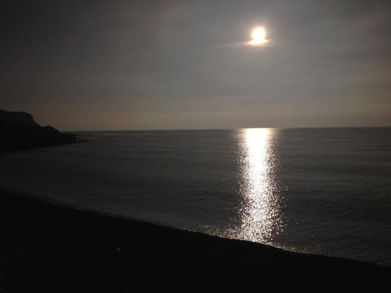 After diving Chesil Cove