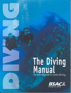 The Diving Manual - scuba bookshelf books