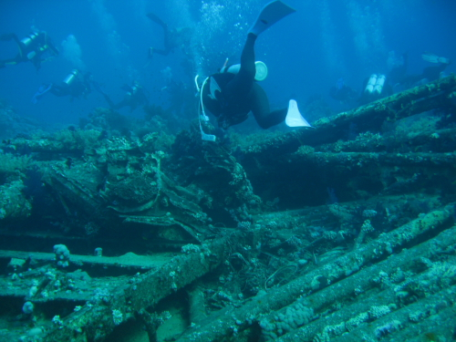 Ras Mohammed, Shark Reef and the Yolanda Wreck