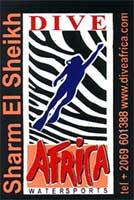 Dive Africa Tank Sticker