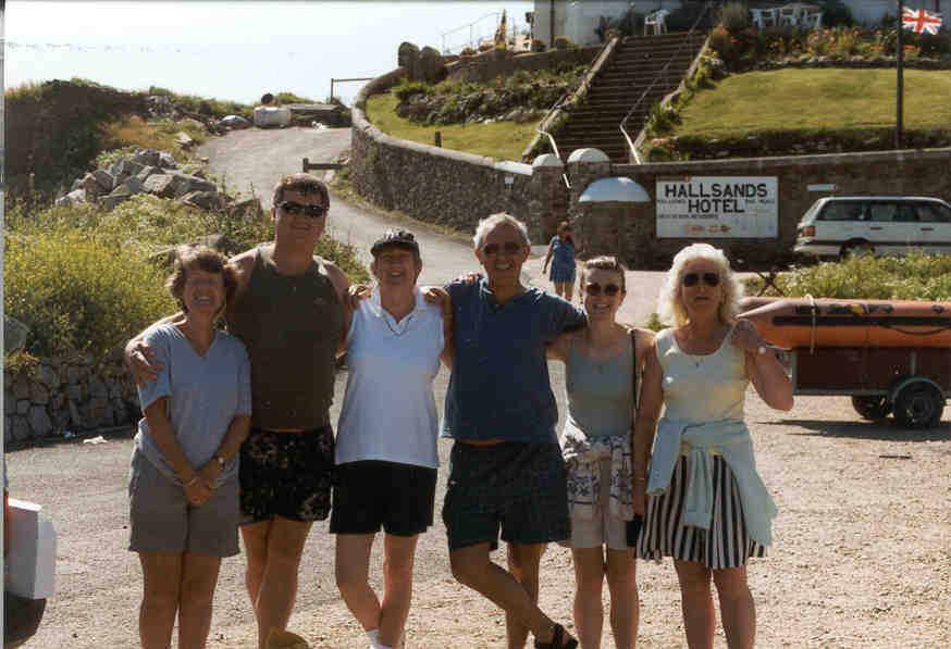 Denise, me, Jenny, Cyril, Suzanne, Lorraine