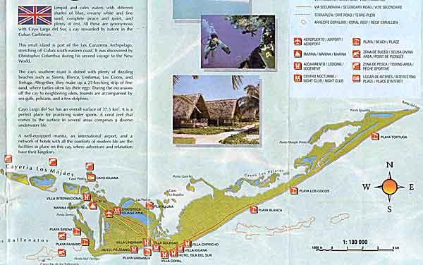 The island of Cayo Largo del Sur