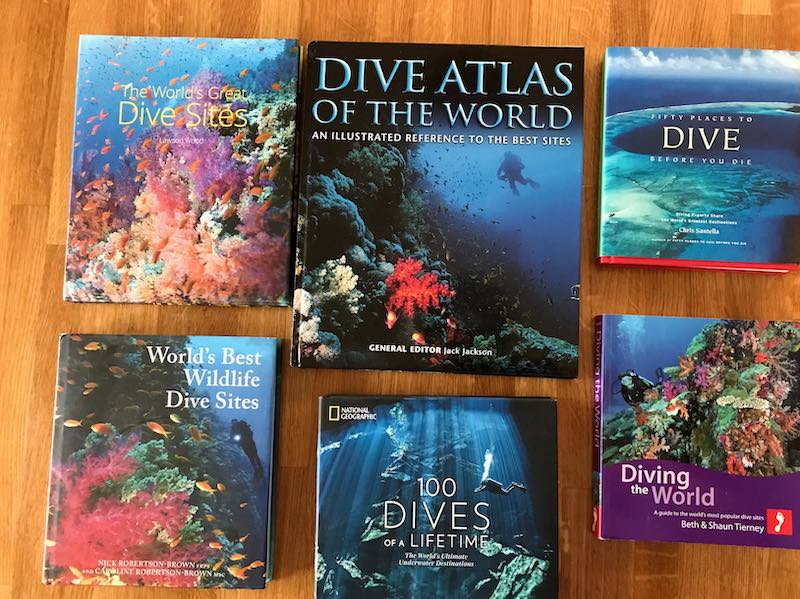 Dive Books (Around the World) - Part One